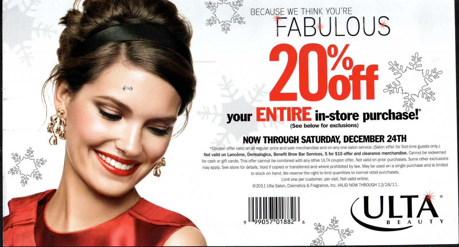 This is a picture of Decisive Ulta 20 Off Printable Coupon