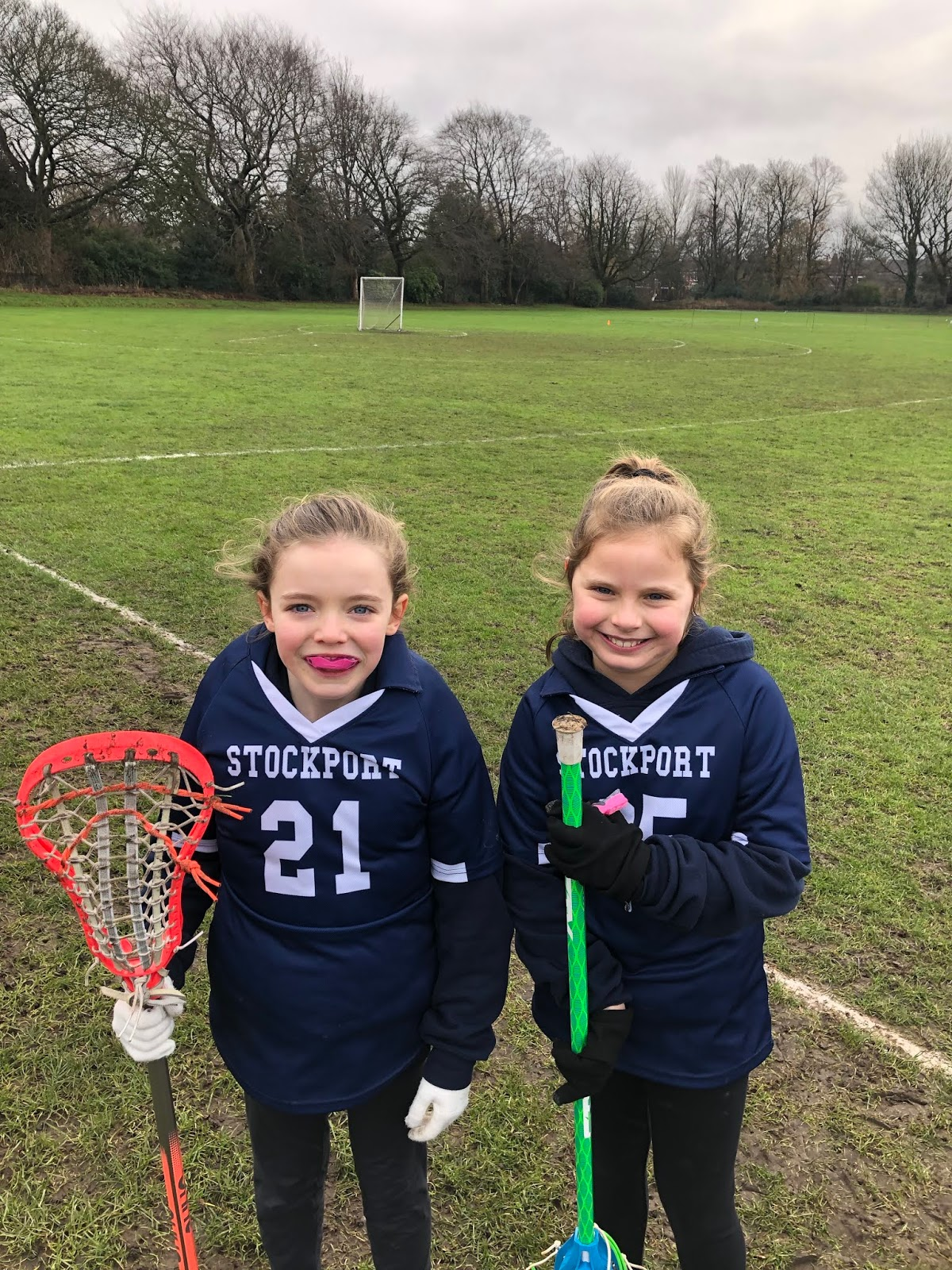 Stockport Lacrosse Club Juniors: U11 Girls at home to Mellor