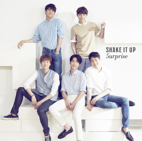 [Single] 5urprise – SHAKE IT UP (2016.08.10/MP3/RAR)