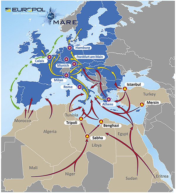 Calais Europe Map.Time Price Research Weapon Of Mass Migration The Us War On Europe