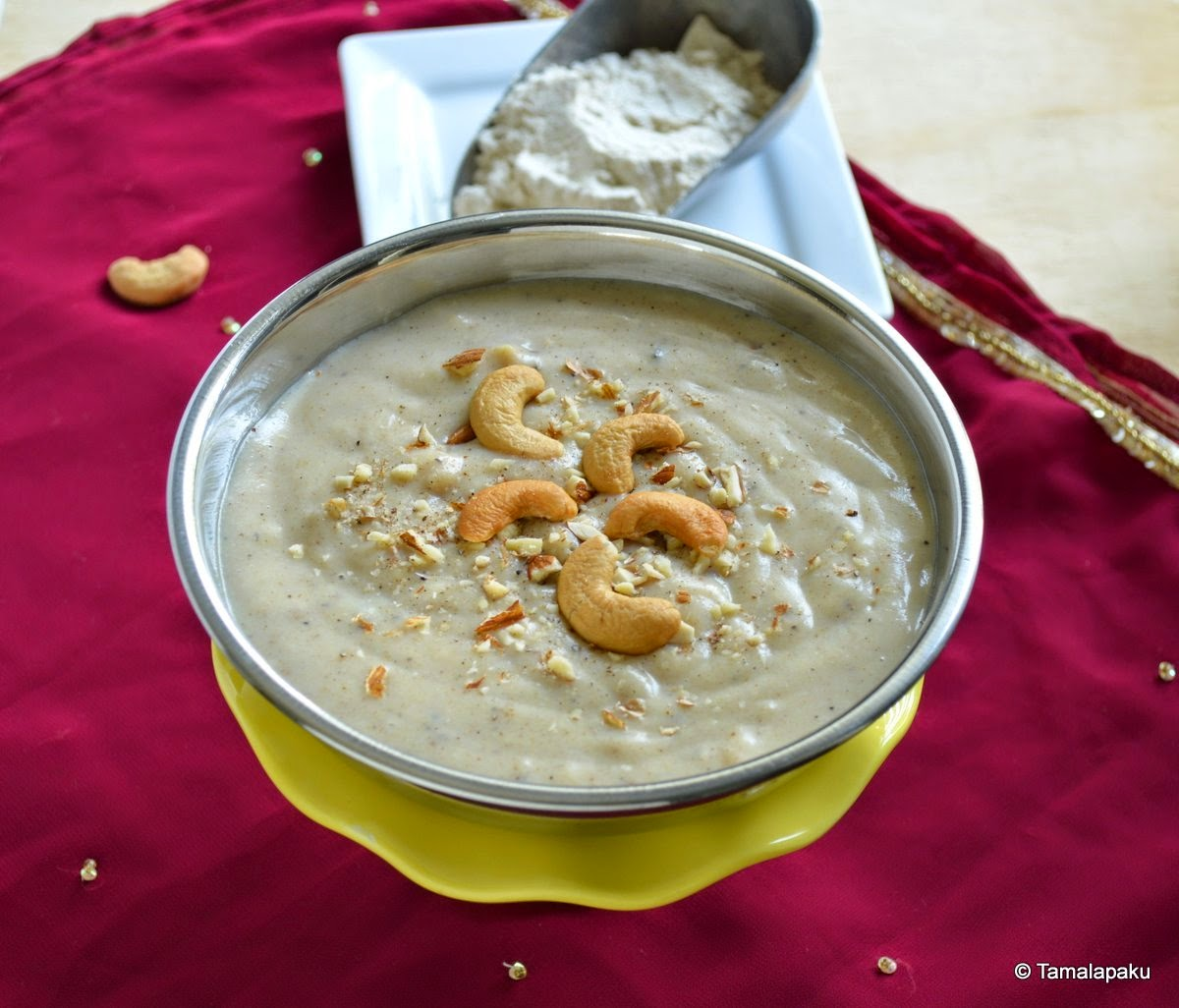Garvanu ~ Wheat Flour Kheer