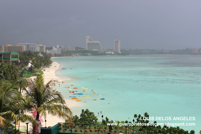 Beach view at Guam Reef Hotel