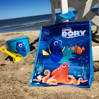 finding dory disney store reusable tote bag
