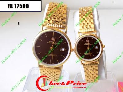 Đồng hồ cặp đôi Rolex 1250Đ