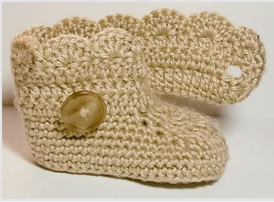Botitas de Crochet para Bebe Paso a Paso