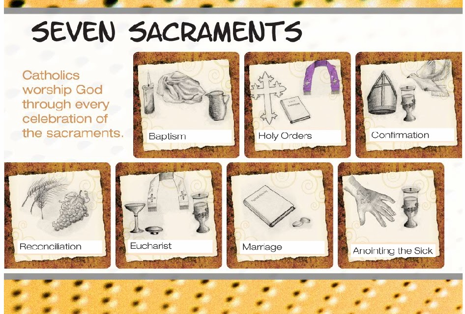 The seven sacraments of the catholic church essay
