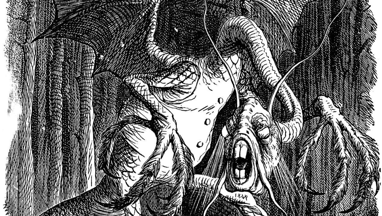'Jabberwocky' by Lewis Carroll.