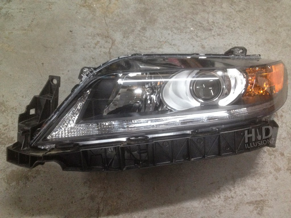 Hidillusionz Lifetime Warranty Hid Retrofit Projector Headlights 2003 Honda Accord Tail Light 2013 Present Coupe S2k Oem S2000 Projectors Single Xenon Low Beams Shrouds Circular Chrome