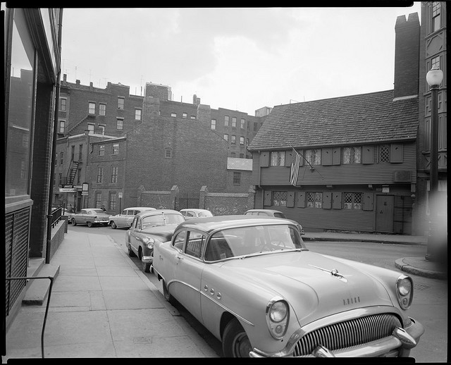 Old Boston In Black Amp White Photos Vintage Everyday