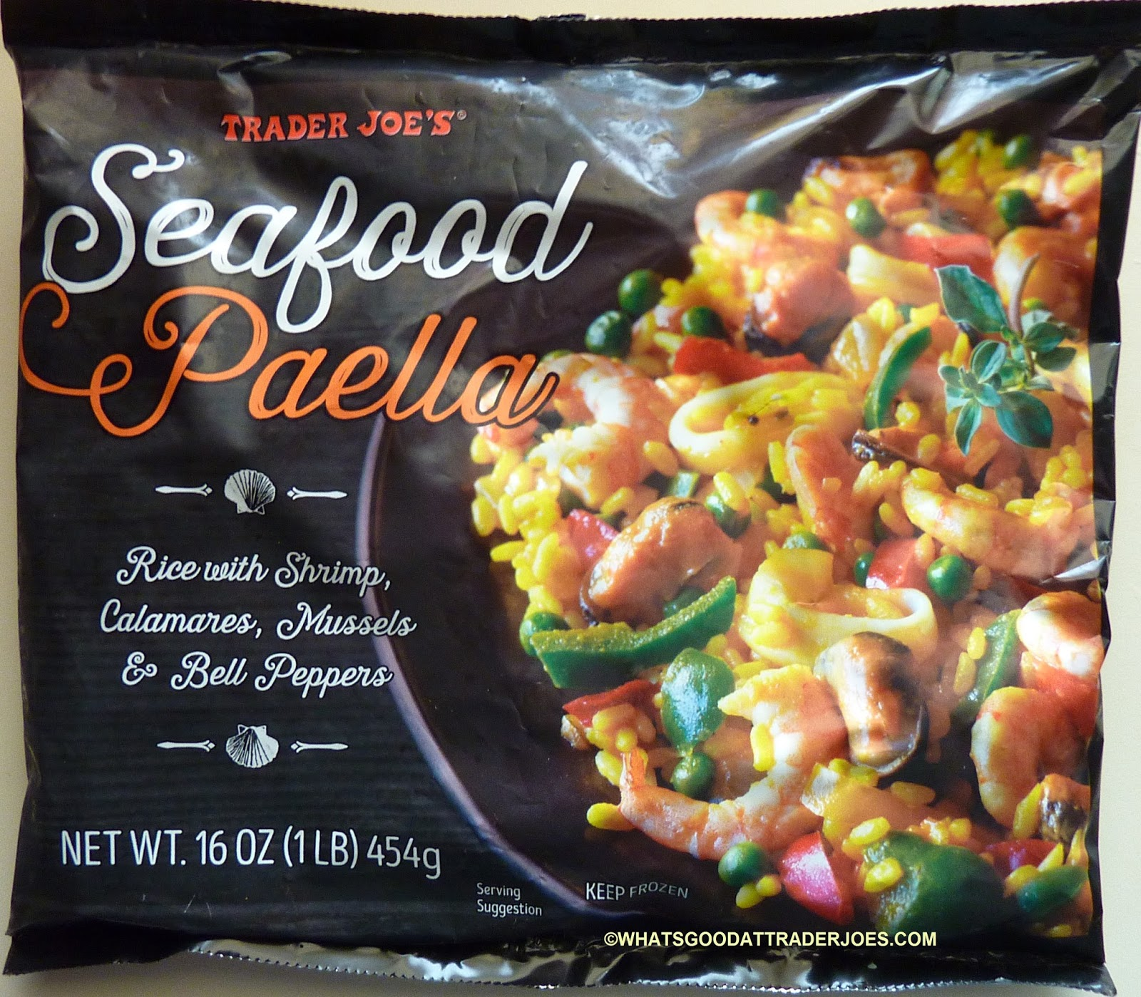 What\'s Good at Trader Joe\'s?: Trader Joe\'s Seafood Paella