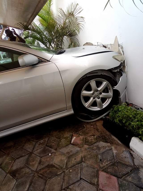 Chai! Gateman crashes his employer