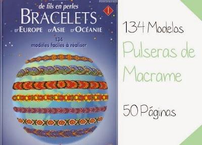 Pulseras de la Amistad de Macrame 134 modelos