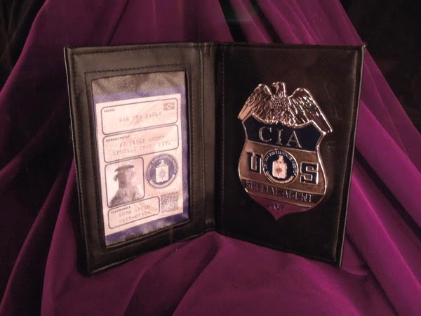 Sam the Eagle Muppets Most Wanted CIA ID badge prop