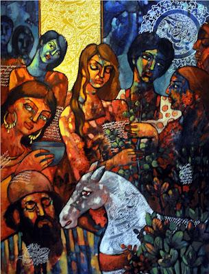 Αποτέλεσμα εικόνας για sheikh saadi painting