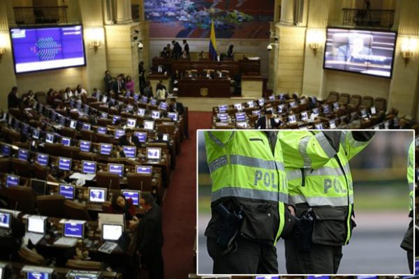 Aprobación 'rápidita' del Código de Policía en tercer debate