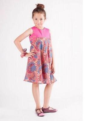 Gambar Baju Batik Anak Perempuan
