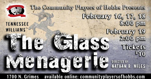 "Tickets are now on sale for ""The Glass Menagerie"""