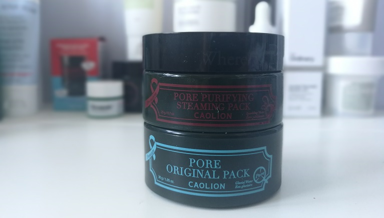 Hot & Cool pore pack : le duo de masques de Caolion