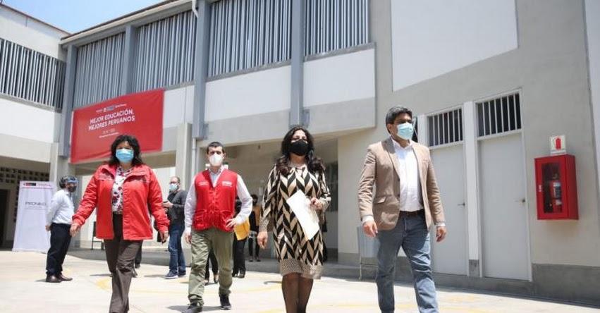 MINEDU: Ministro Benavides inaugura nuevo local de colegio en el Rímac