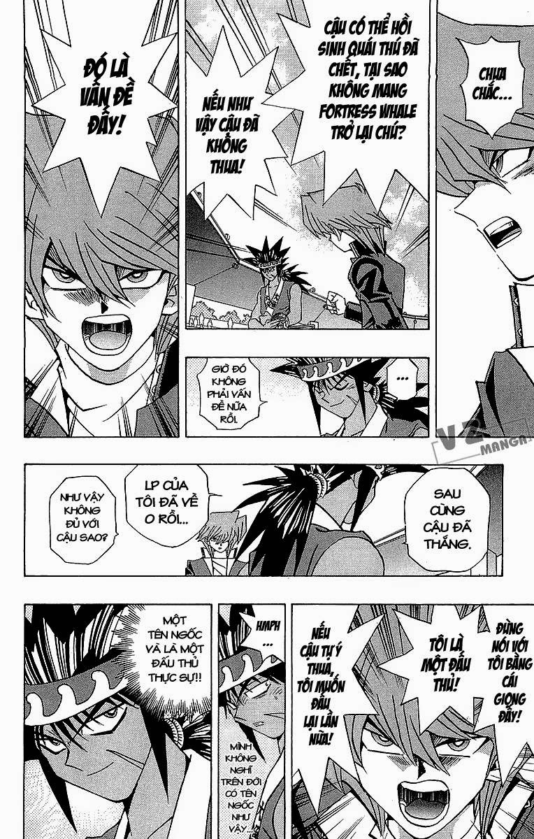 YUGI-OH! chap 183: lý do quyết đấu! trang 5