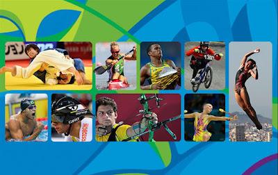 Veja quem são os principais atletas que participarão dos Jogos Olímpicos Rio 2016