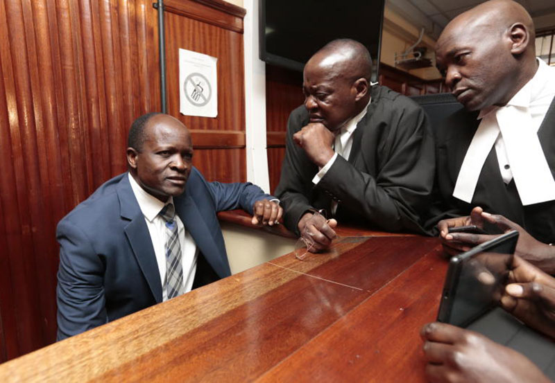 Tough Days Ahead. Governor Okoth Obado Denied Bail, To Stay Longer In Jail