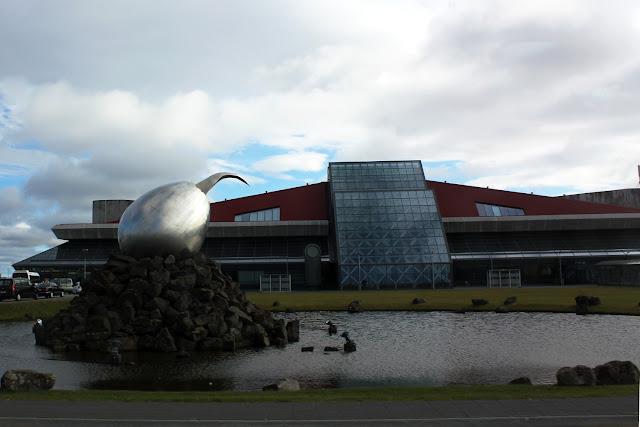 Exterior del aeropuerto de Keflavík