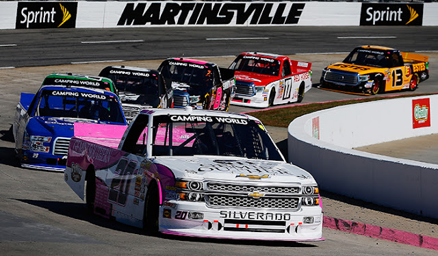 Gray Gaulding at Martinsville