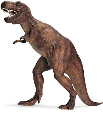 Imagen del Tiranosaurio parado