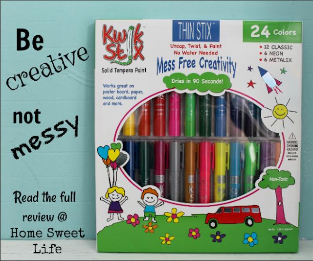 Kwik Stix, creativity, no mess kids art