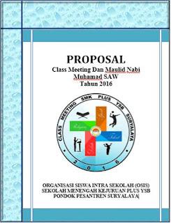Contoh Proposal Kegiatan Sekolah Terlengkap