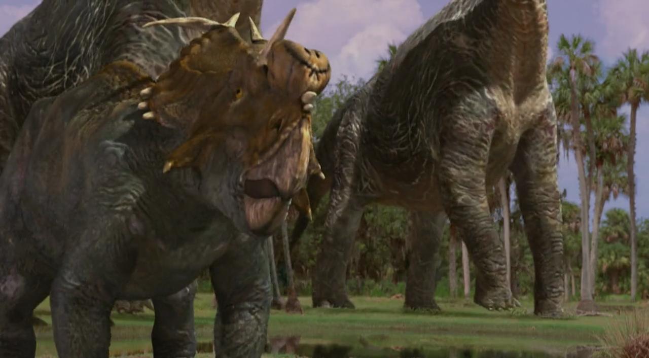 Disney Dinosaur Carnotaurus Death Pictures To Pin On