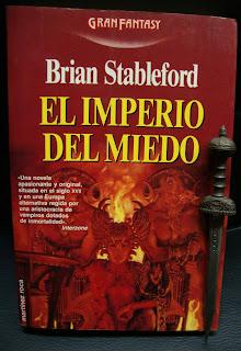 Portada del libro El imperio del miedo, de Brian Stableford