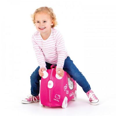 maleta trunki hallo kitti comprar online una gran seleccion de maletas para niños