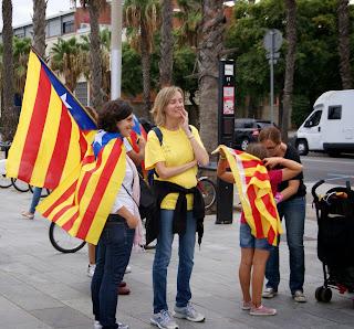 Via Catalana - 11 de setembre a Barcelona per Teresa Grau Ros