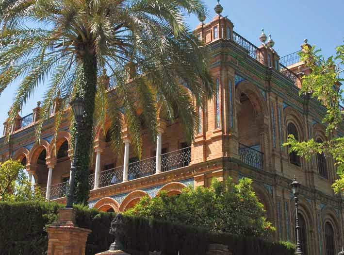 Sevilla es un mundo - La casa de luca ...