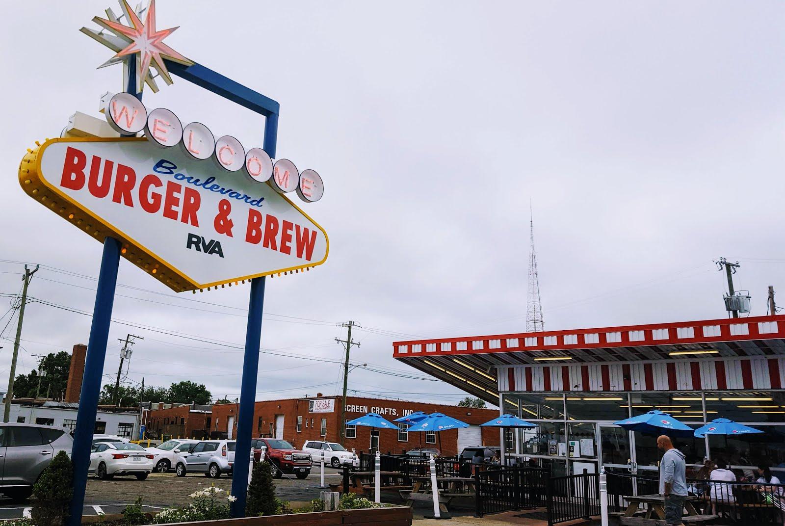 Food Boulevard Burger And Brew