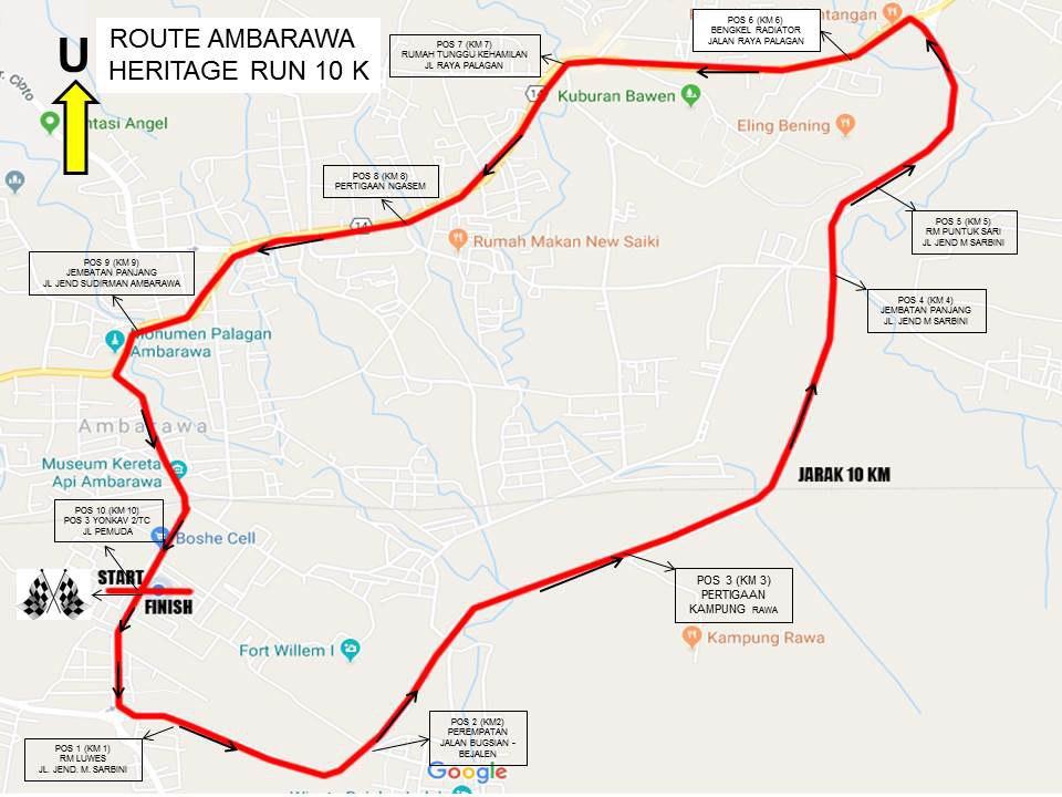 10K 👟 Ambarawa Heritage Run • 2018