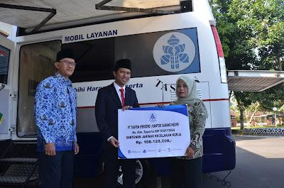 Bupati Trenggalek Sampaikan Santunan PT. TASPEN (Persero) Kepada Ahli Waris Penerima Pensiunan