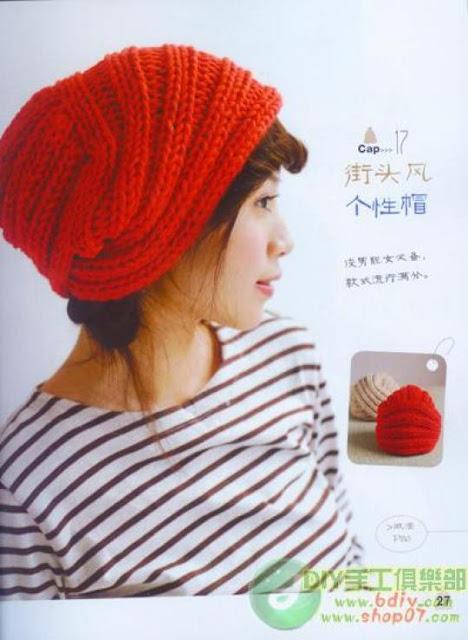 Turbante con una sola Tira de Crochet