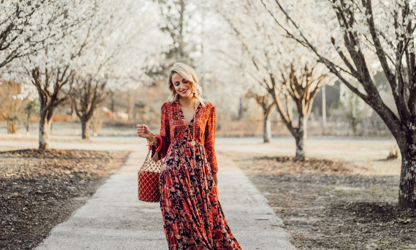 The Best Floral Maxi