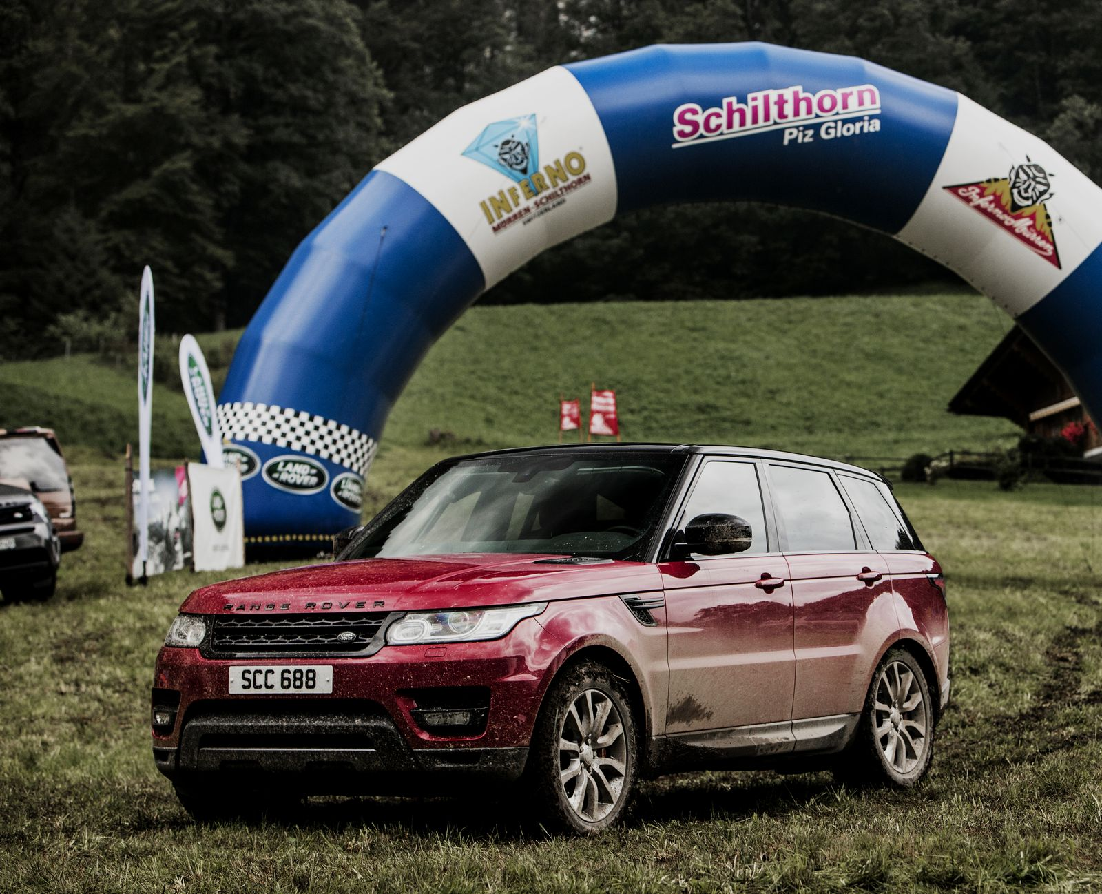 Range Rover Sport Conquers The Swiss Alps With Ben Collins