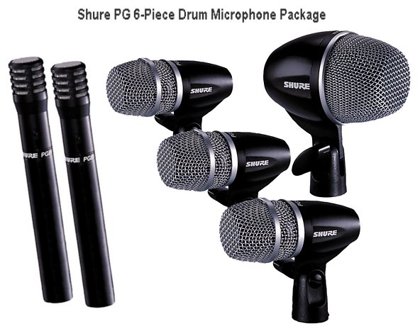 Mic Shure PG6-Piece Drum
