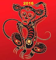 Año nuevo chino Año del Mono de fuego