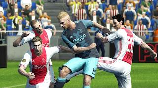 Kits Ajax Amsterdam 2016-2017 Pes 2013