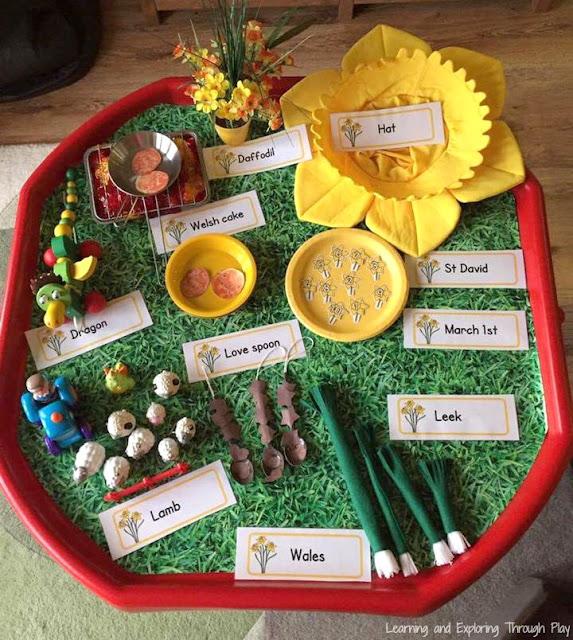 St Davids Day Activity for Kids