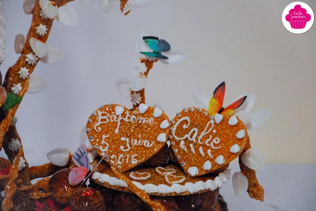 Baptême de BB Sweetness - Thème papillons et petits hiboux
