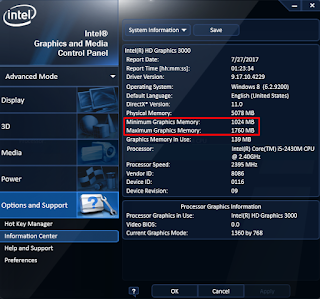 Flashing Bios: How to Upgrade Intel HD Graphic VRAM