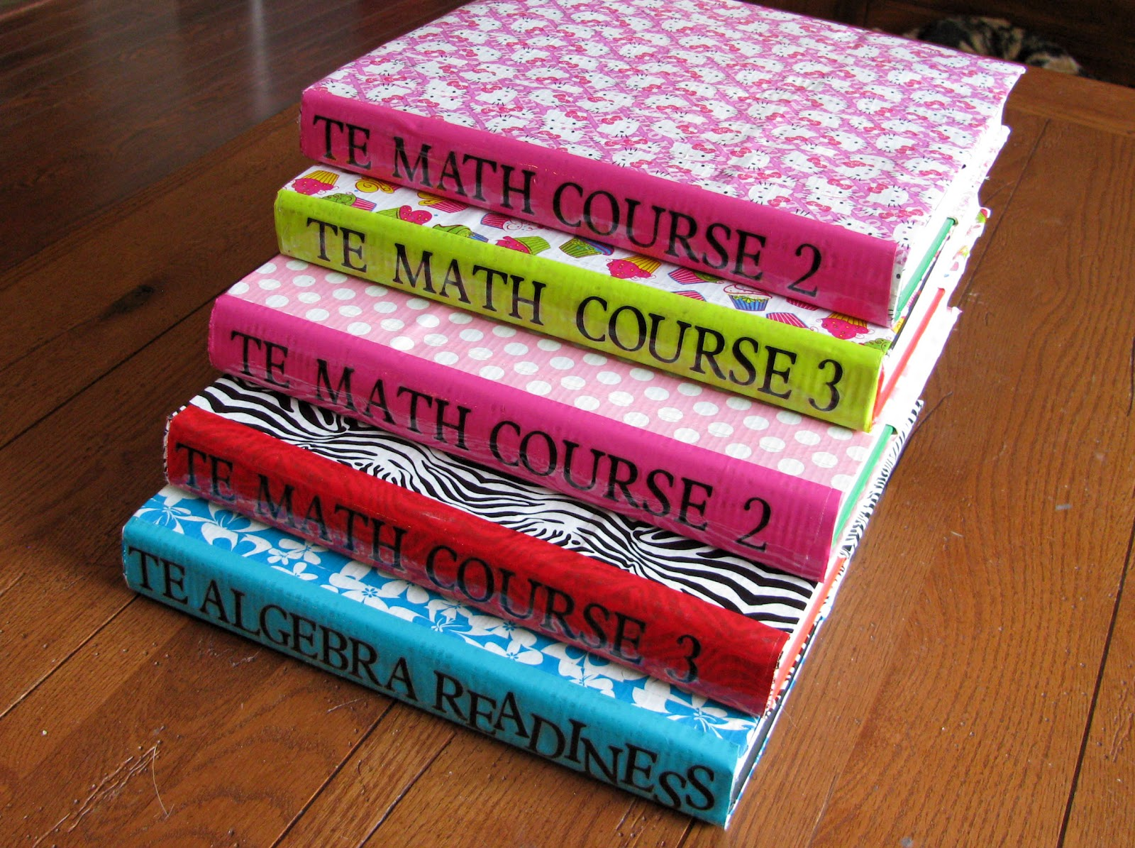 Controlling My Chaos: Durable Textbook Covers