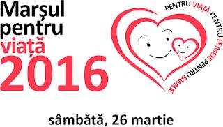 Marşul pentru viaţă la Timisoara - 26 martie 2016